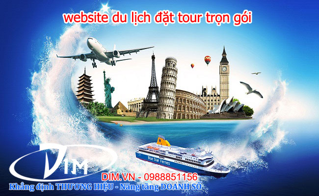 thiet ke website du lich gia re