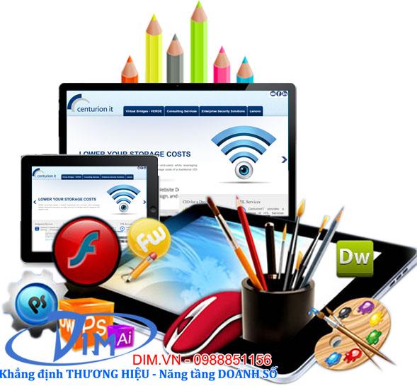 thiết kế web trọn gói giá rẻ tại đống đa