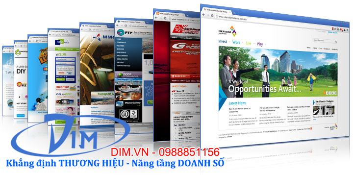 dịch vụ thiết kế web trọn gói tại cầu giấy