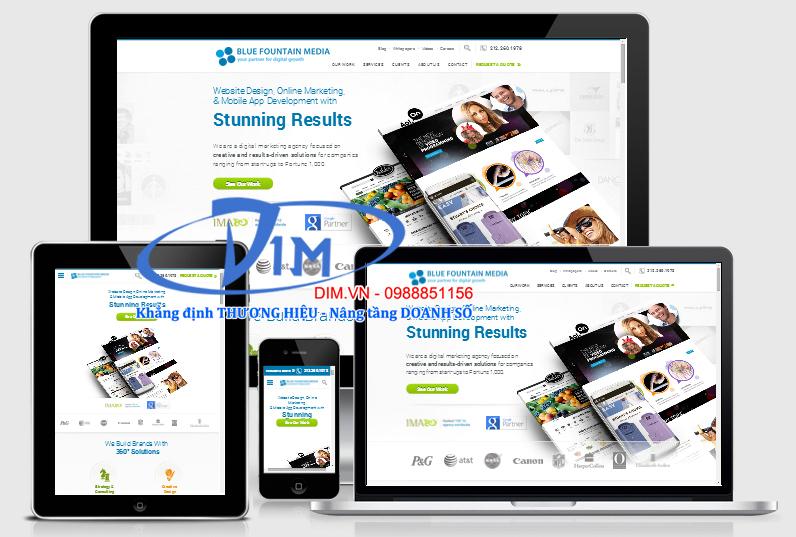 thiết kế webstie cho doanh nghiệp tại bắc giang