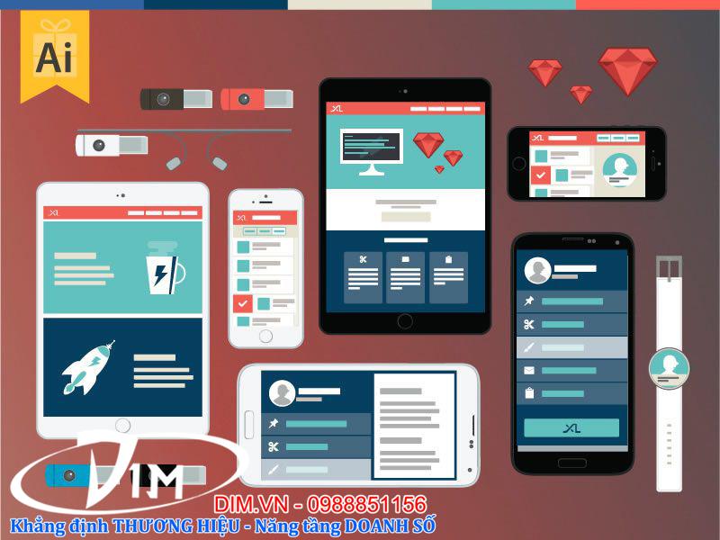 dịch vụ thiết kế website tại quế võ