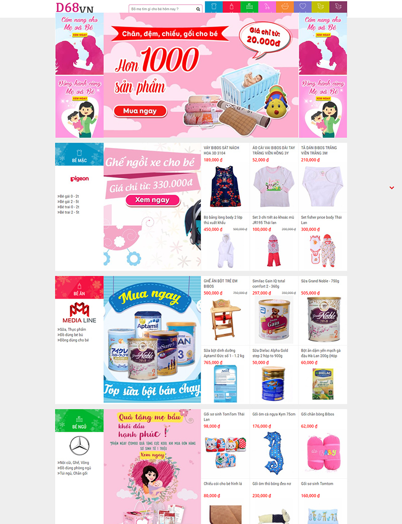 Shop Baby desktop