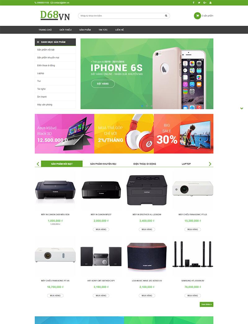 Cửa hàng công nghệ desktop