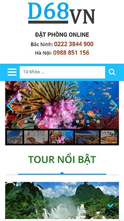 Đặt Tour Online mobile