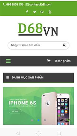Cửa hàng công nghệ mobile
