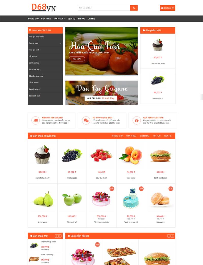 Trang trại nông sản desktop