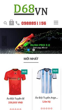 Đồ thể thao nam Mita mobile