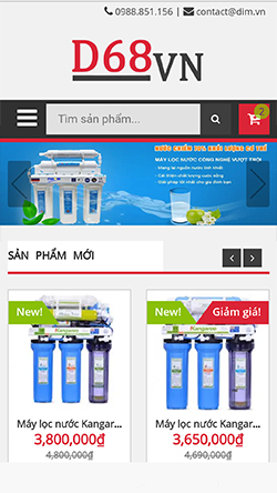 Máy lọc nước Kangaroo mobile